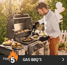 Top 5 Gas BBQ's