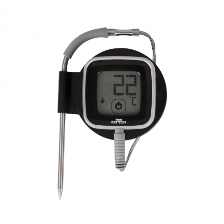 Patton Emax Bluetooth Smart thermometer in hoes