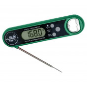 Big Green Egg Thermometer with Bottle Opener