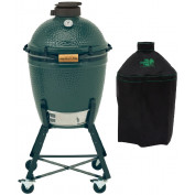 Big Green Egg Medium + Onderstel + Hoes