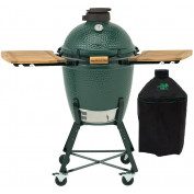 Big Green Egg Medium + Onderstel + Zijtafels + Hoes