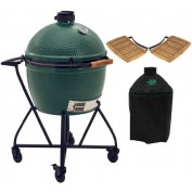 Big Green Egg XLarge + Integgrated Nest+Handler + Zijtafels + Hoes