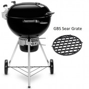 Weber Master-Touch GBS Premium SE E-5775 Black productfoto met rooster