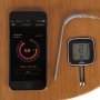 Patton Emax Bluetooth Smart thermometer op tafel met app