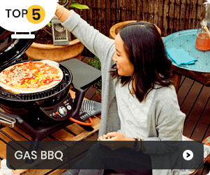 Top 5 - Gas BBQ's